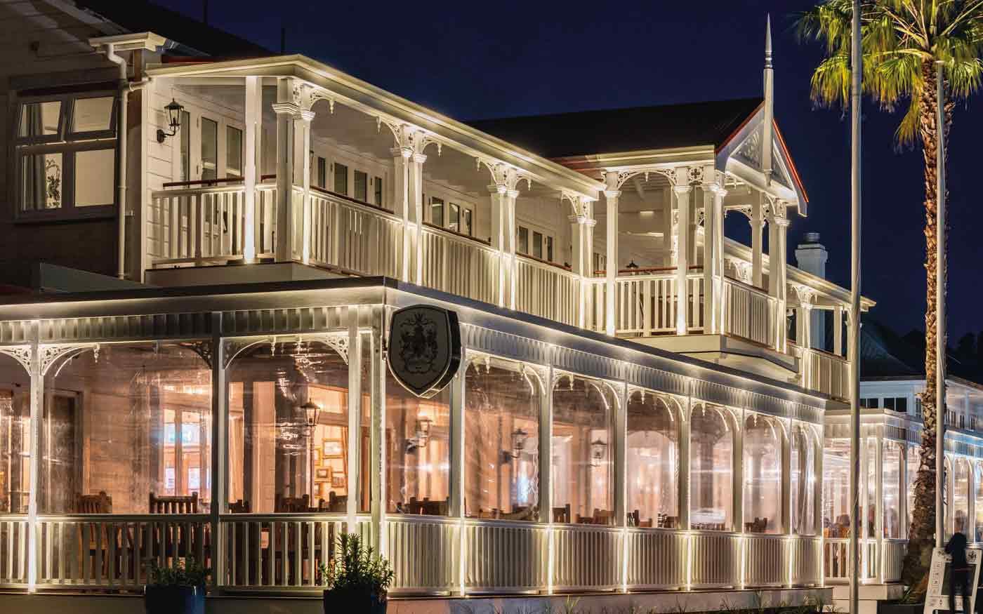 The Duke of Marlborough Hotel / NZ