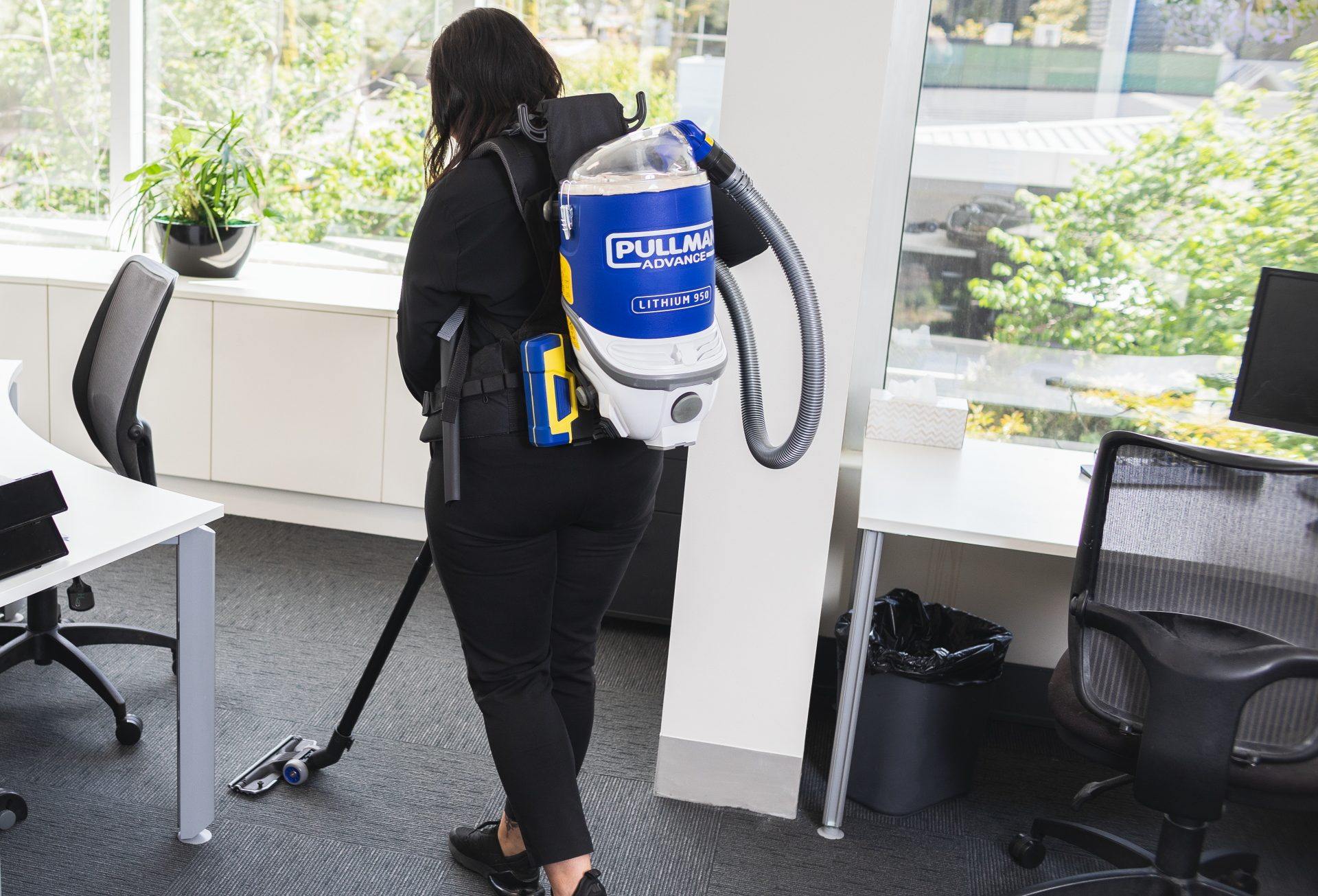 Pullman Battery Backpack Vacuum