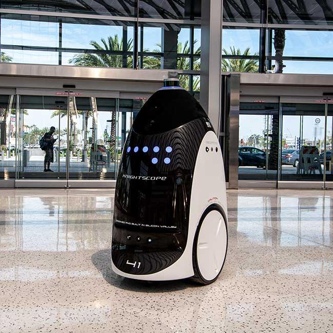 Knightscope Autonomous Security Robots (ASRs)