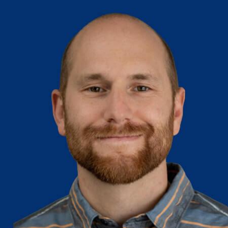 Headshot of Daniel Beach, Senior Data Engineer