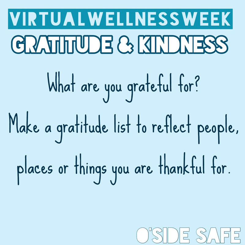Prompt: What are you grateful for? make a gratitude list to reflect people, places or things you are thankful for.