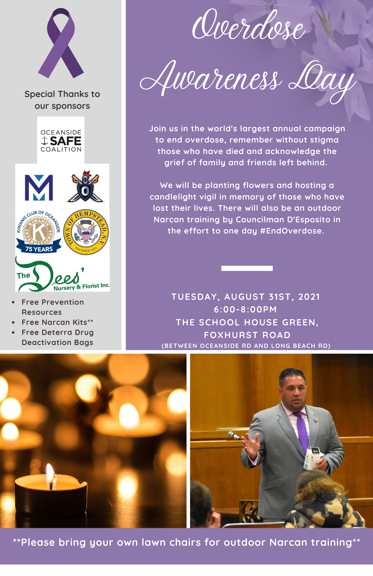 Overdose Awareness Day Remembrance