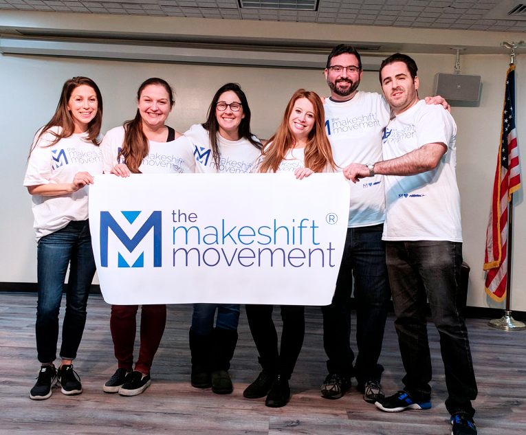 The Makeshift Movement at their inaugural event