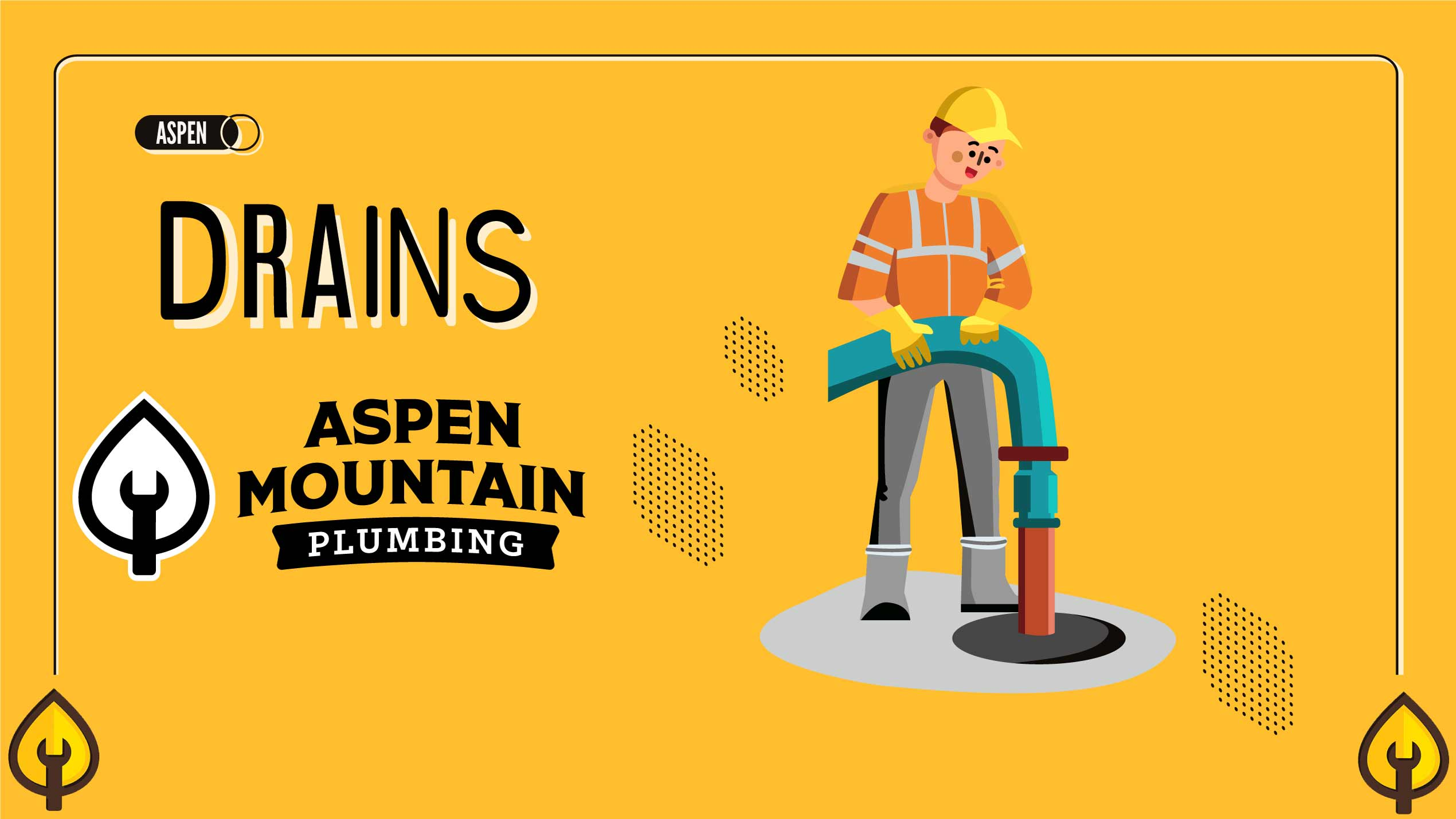 Lance Ball, owner of Aspen Mountain Plumbing, shows you how we prepare for a drain camera inspection.