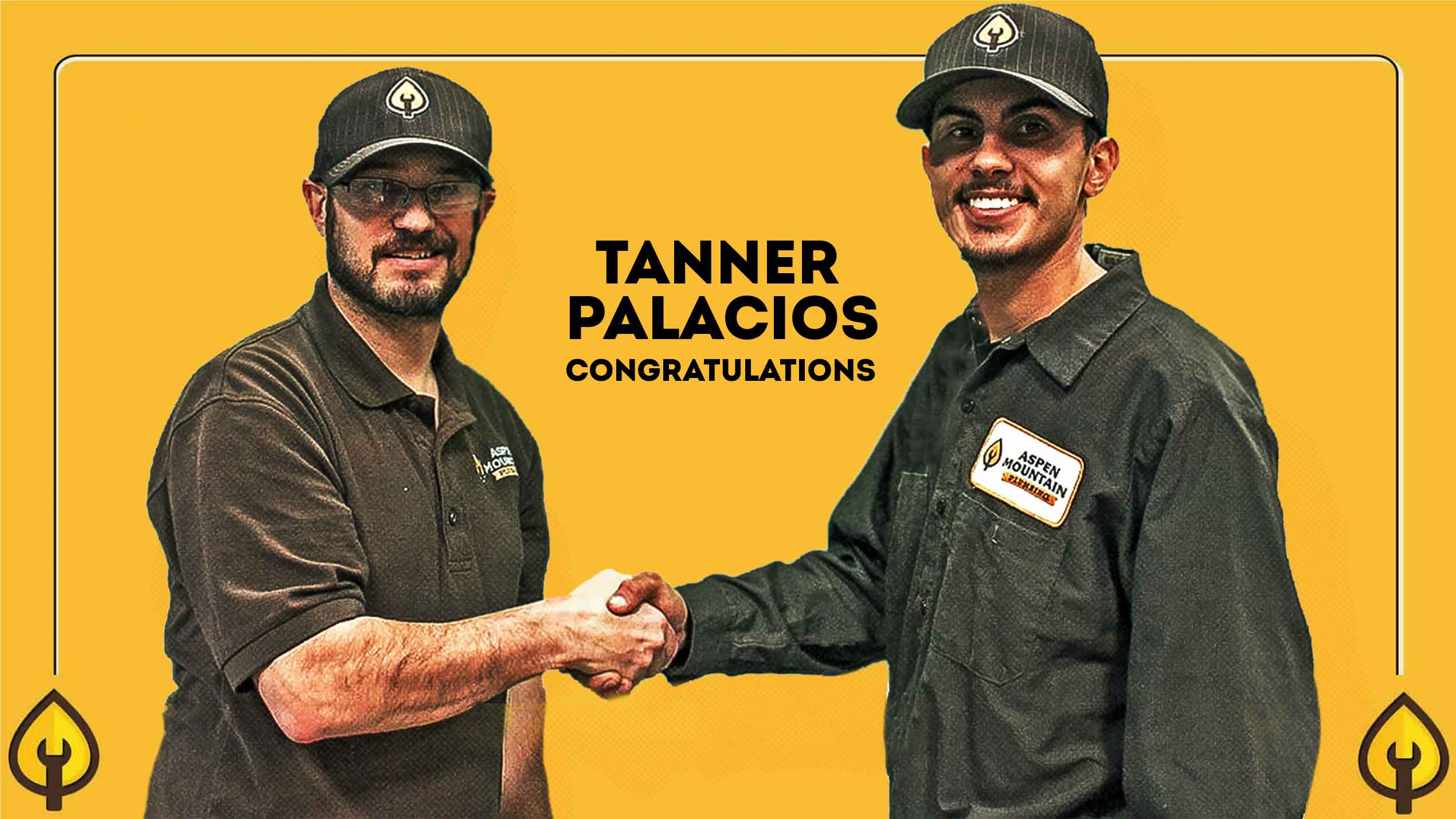 Aspen Mountain Plumbing is pleased to announce that Tanner Palacios has been promoted to Field Manager.