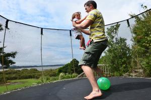 trampoline exercise