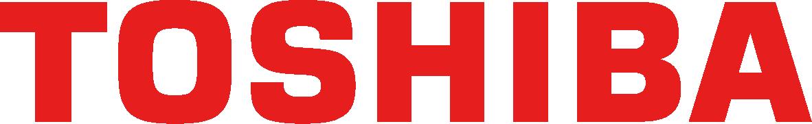 Toshiba red logo