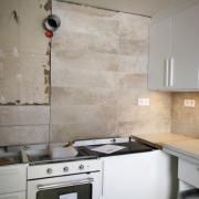 kitchen remodel after a home inspection