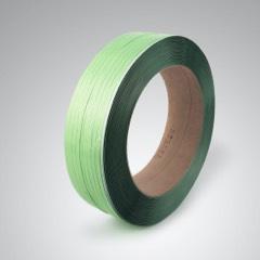 Grünes Kunststoffband