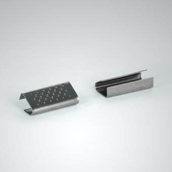 Verschlusshülsen für Kunststoffband