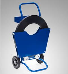 Blauer Abroller