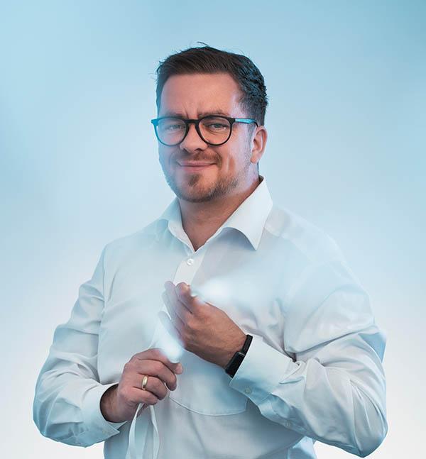 H&B Mitarbeiter Daniel Skapski