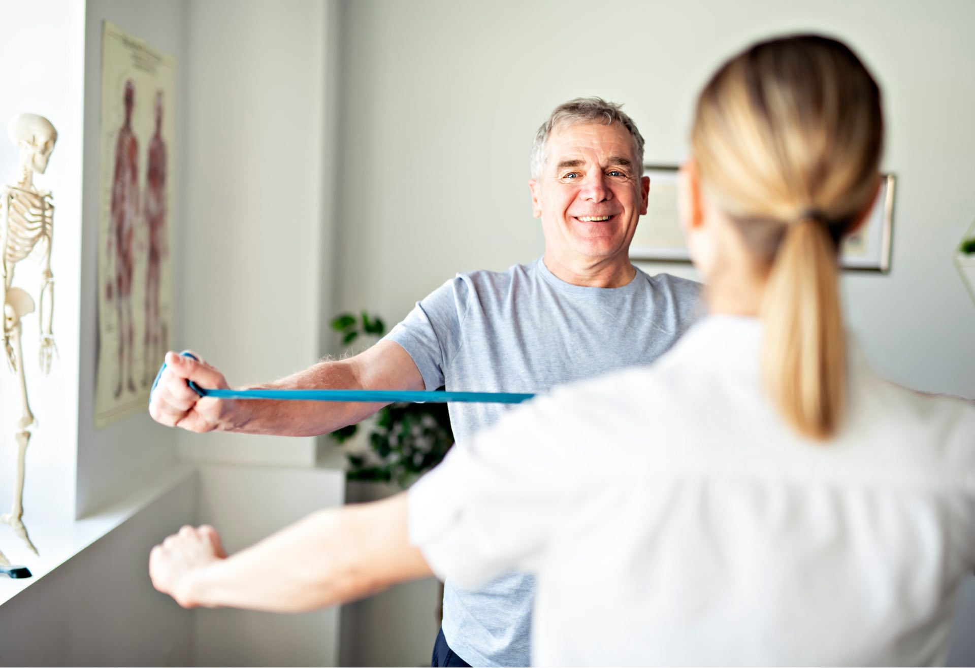 Neurologische Behandlung Physiotherapie Bonn bei Medical Health Point
