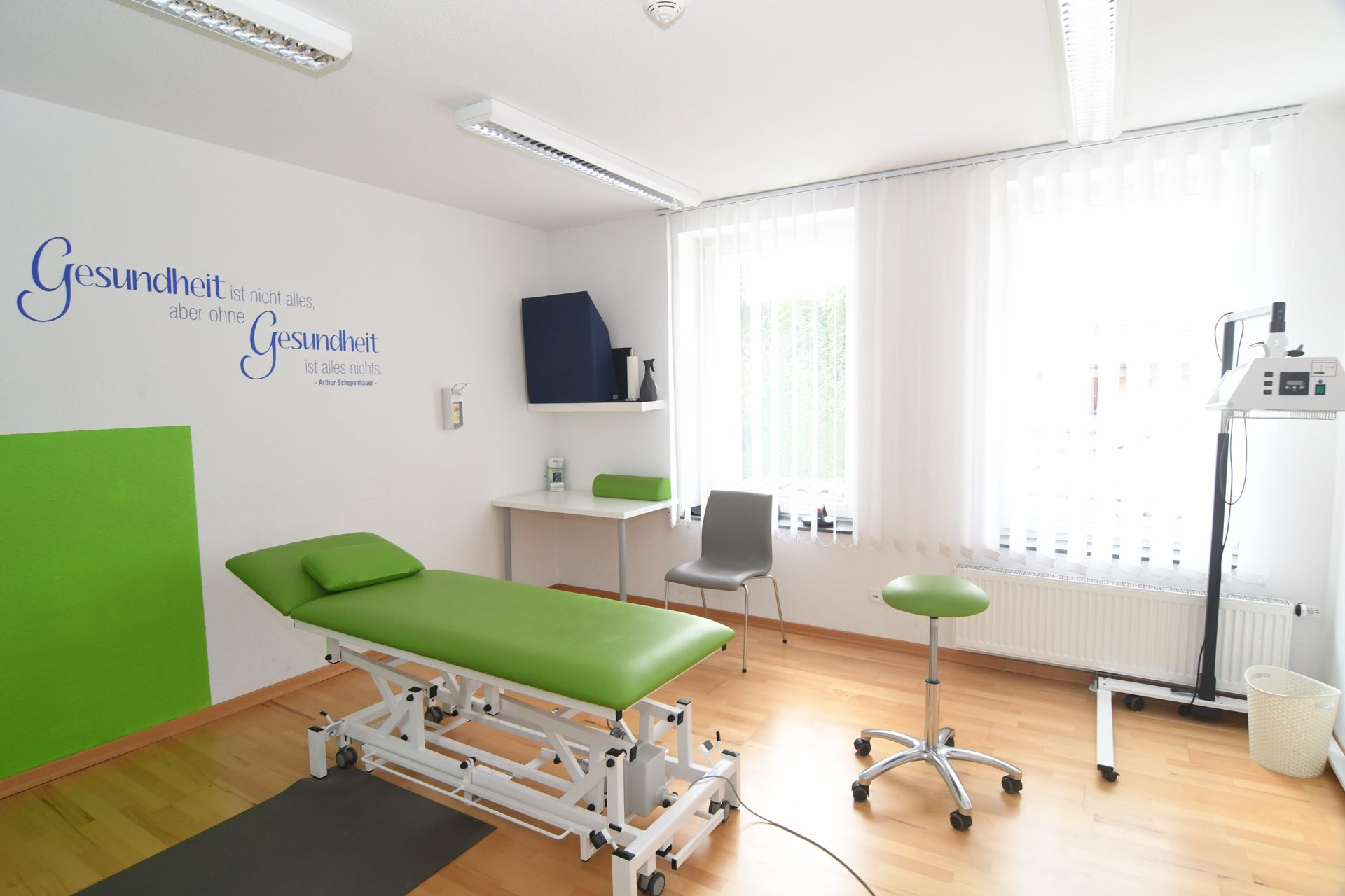 Physiotherapiepraxis Bonn Duisdorf Medical Health Point Behandlungsraum 1