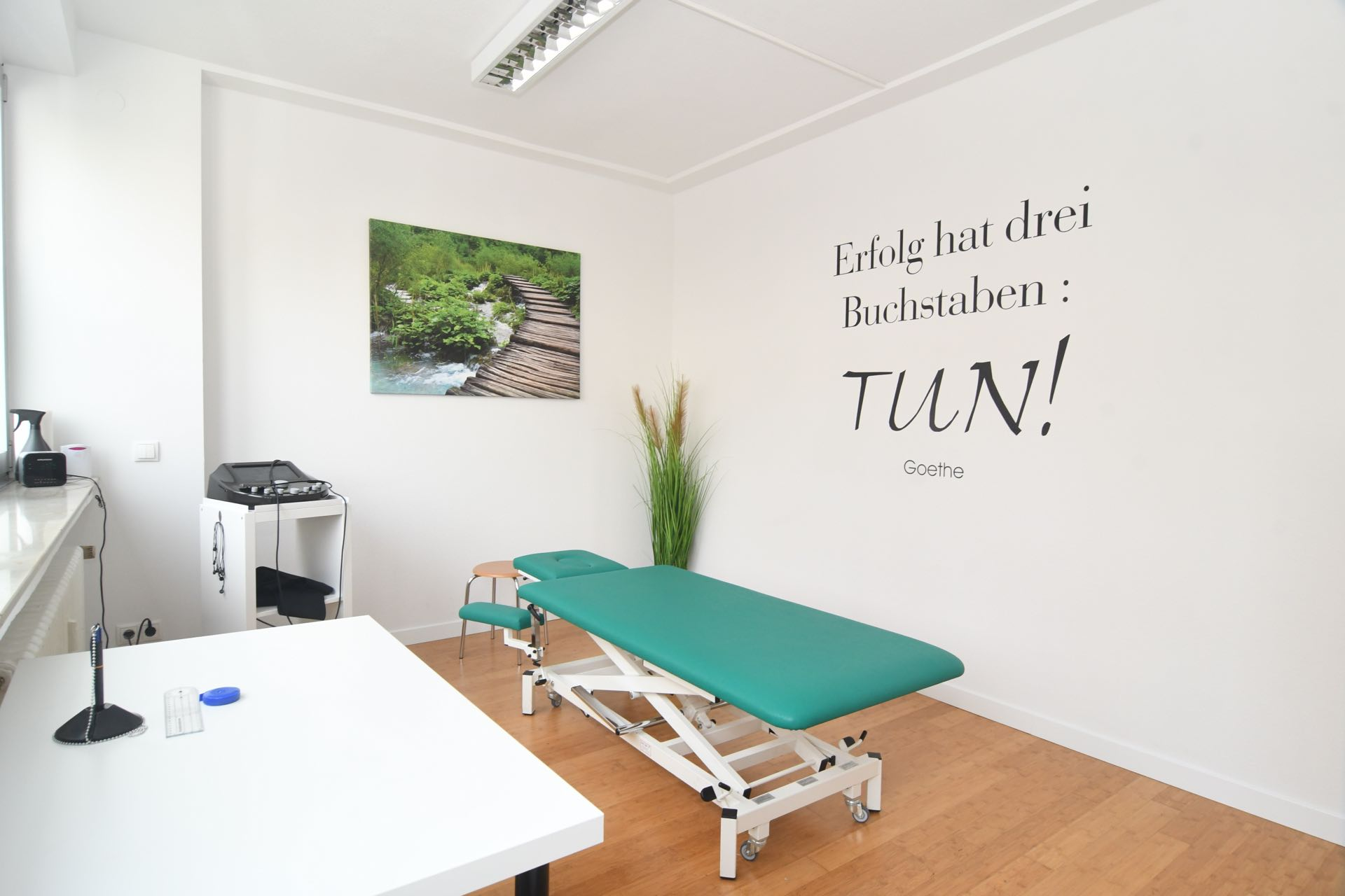 Physiotherapiepraxis Bonn Zentrum Medical Health Point Behandlungsraum 1