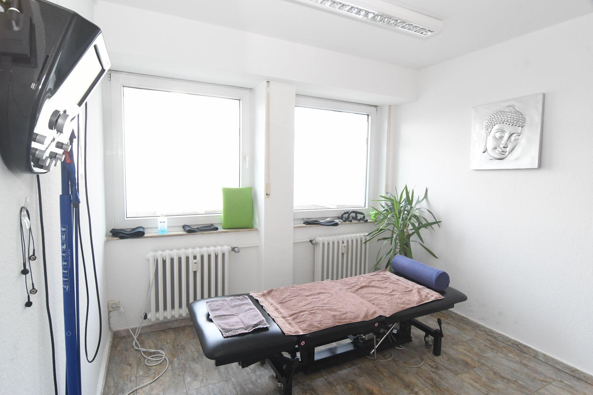 Physiotherapiepraxis Bonn Bad Godesberg Medical Health Point Behandlungsraum 2