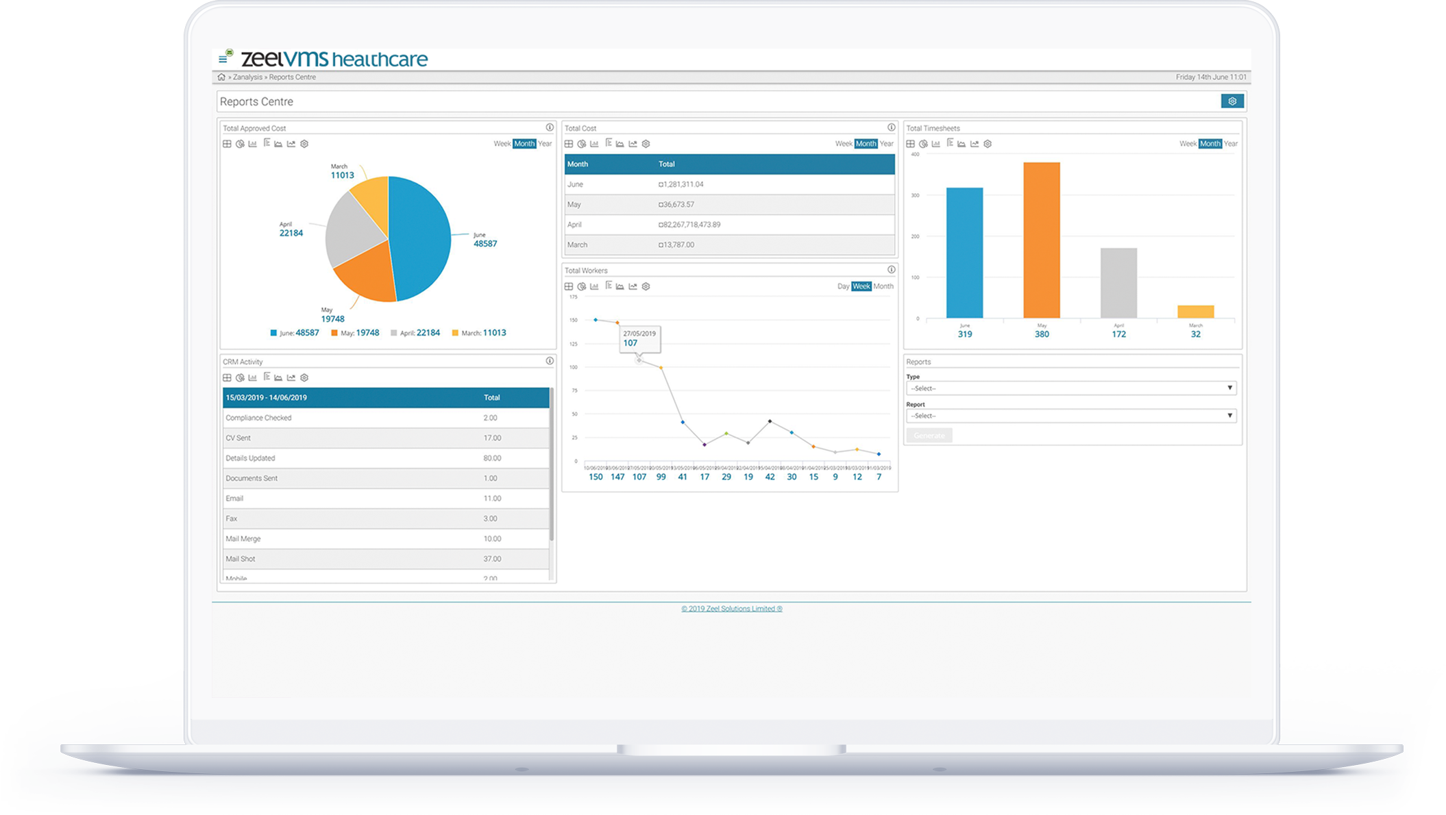 VMS recruitment software spreadsheet