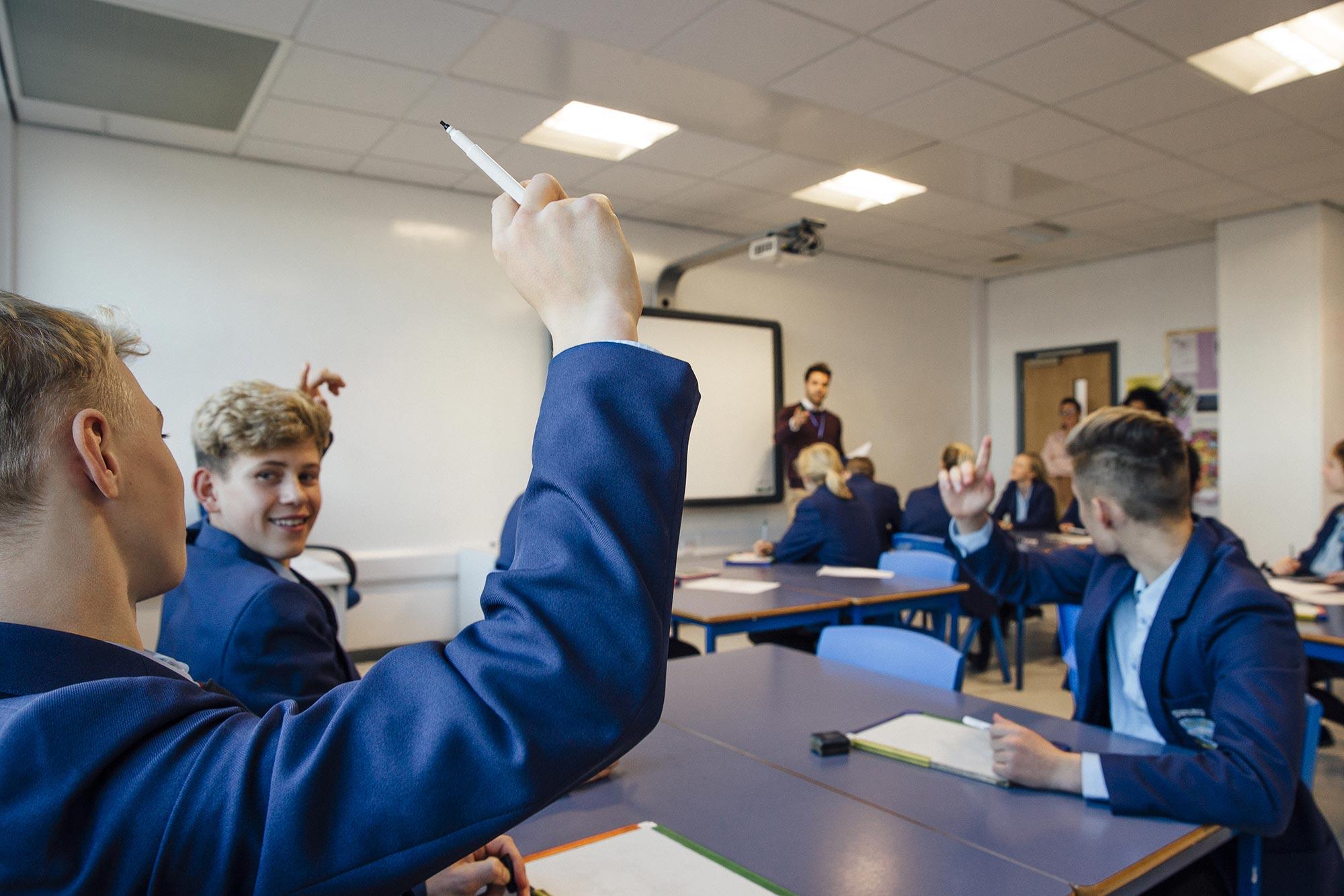 School pupils, Education VMS