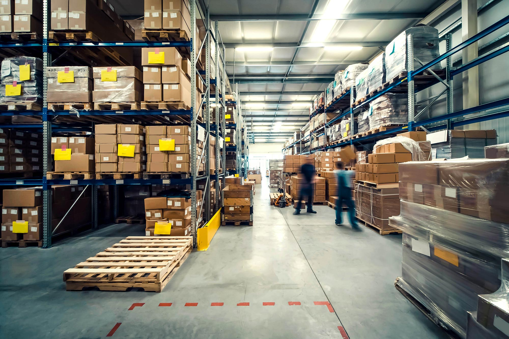 Warehouse and logistics VMS