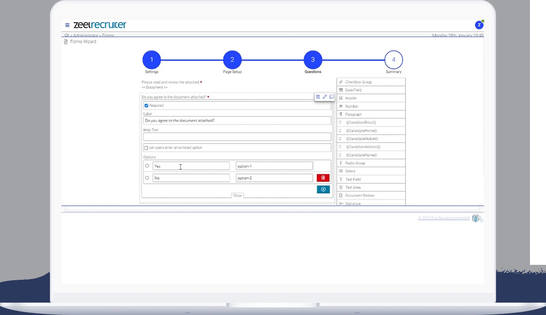 Recruitment MSP software