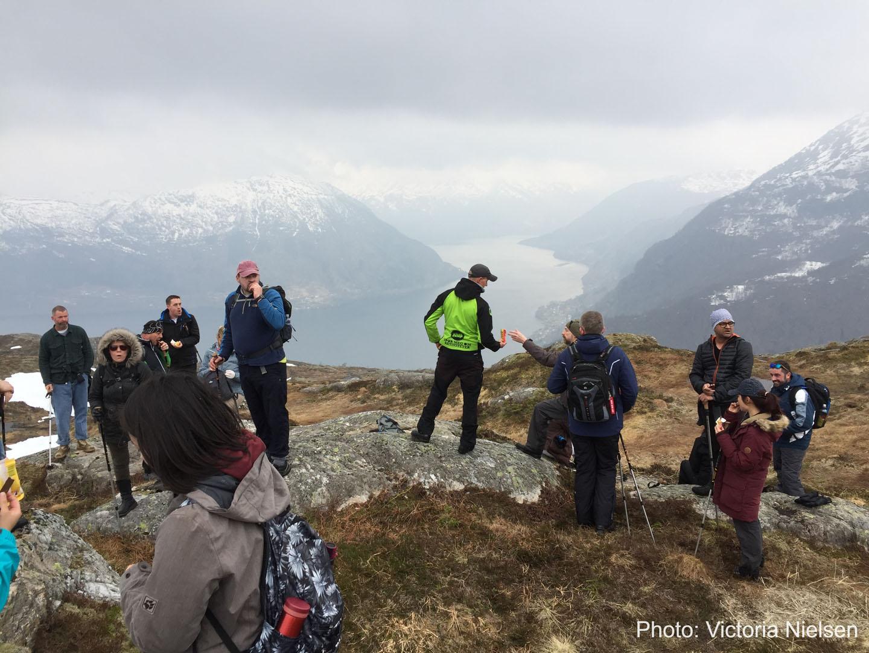 Bergen Base Camp på fjelltur