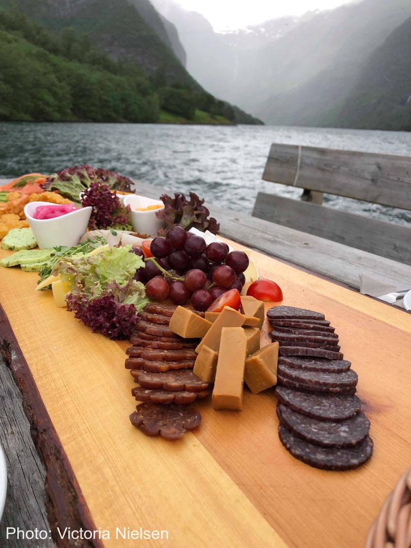Mat ved fjorden