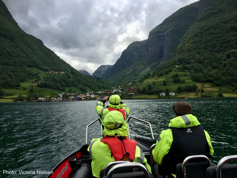 Bergen Base Camp på båttur