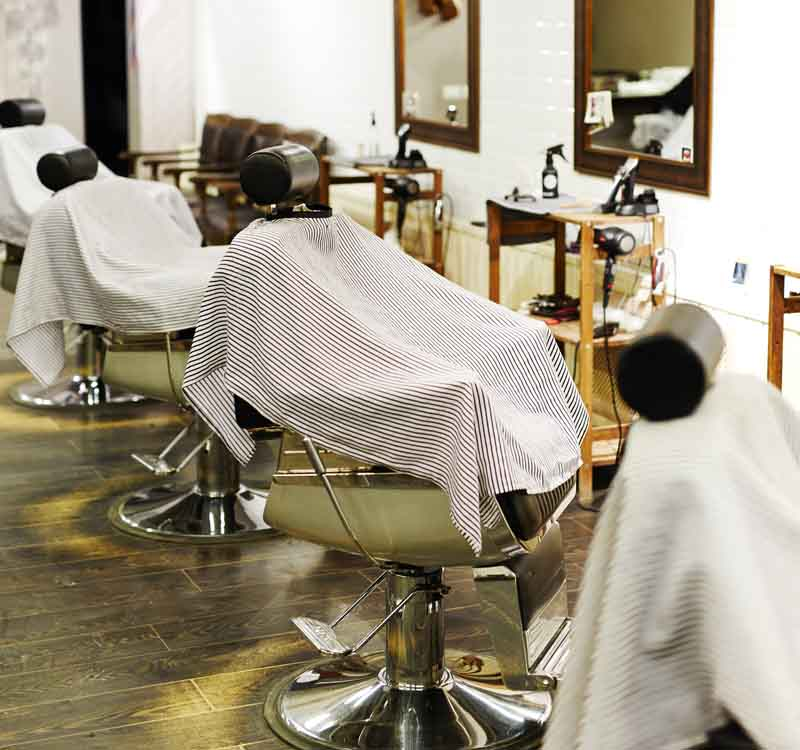Bill Glick Disinfecting Image showing the hair Salon for Professional Disinfecting Services.