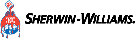 Sherwin-Williams Paint Logo with white background