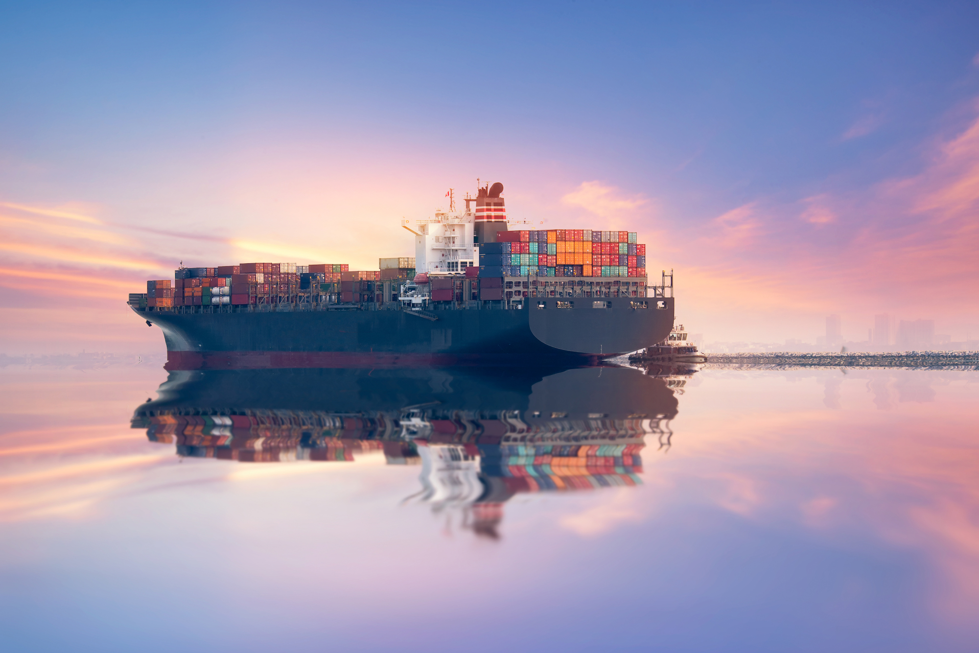 cargo boat ocean freight shipping and logistics