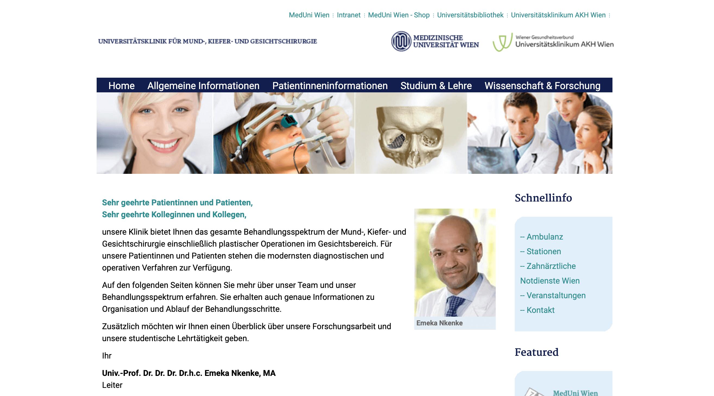 uni-website