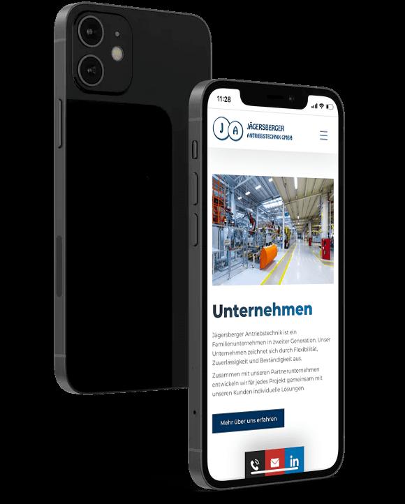 website-mobile-ansicht
