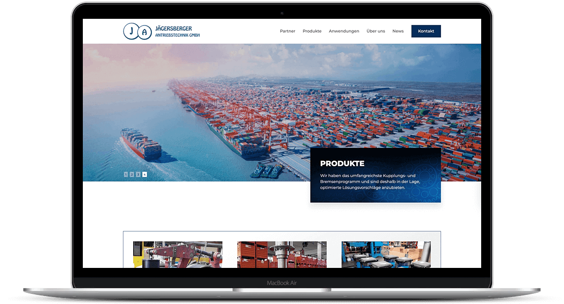 website-desktopansicht