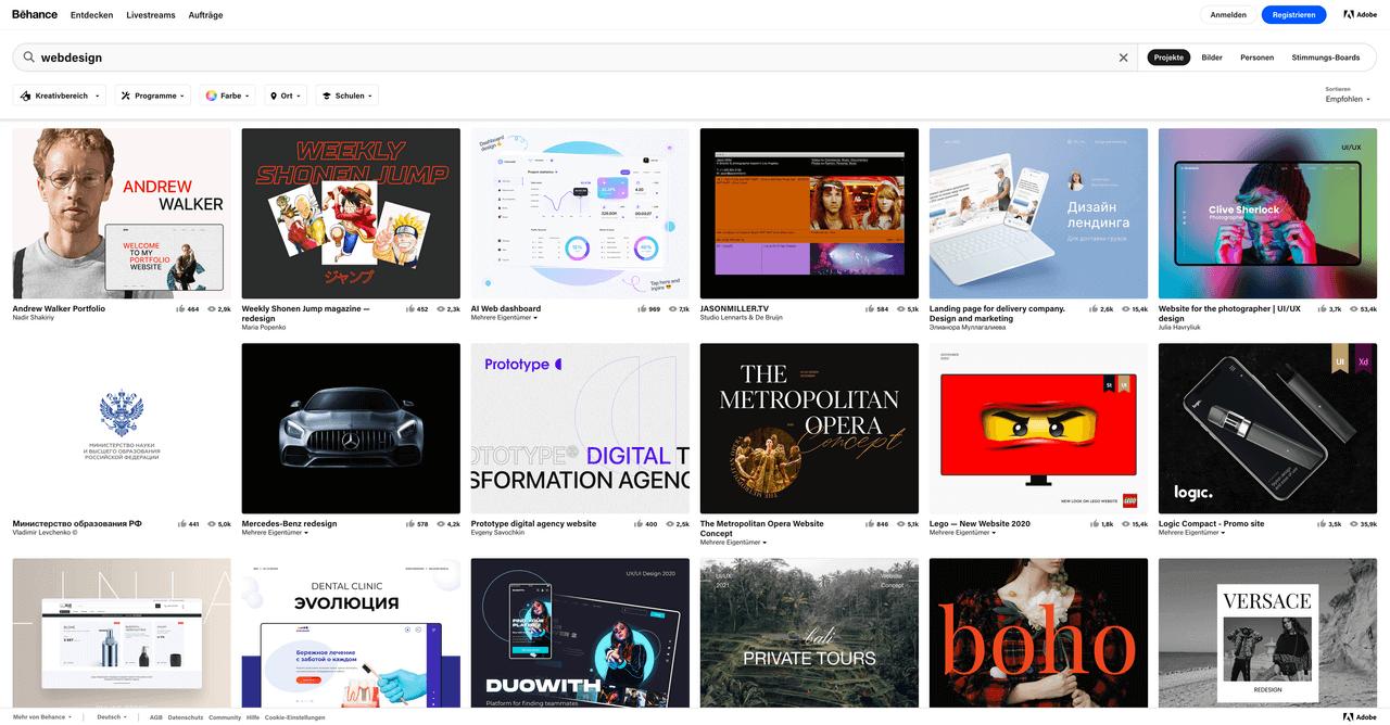 behance-website-screenshot