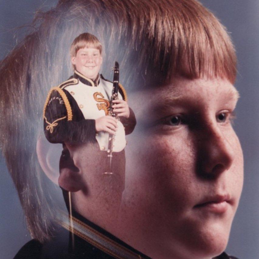 Embarrassing grade school photo