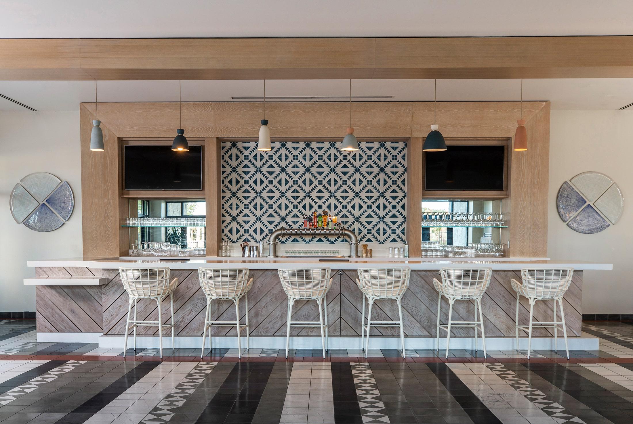 Bar Interior Design at Omni Barton Creek in Austin, Texas