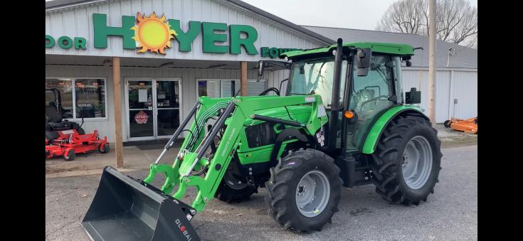 Deutz-Fahr 5080D Keyline 80hp Utility Tractor