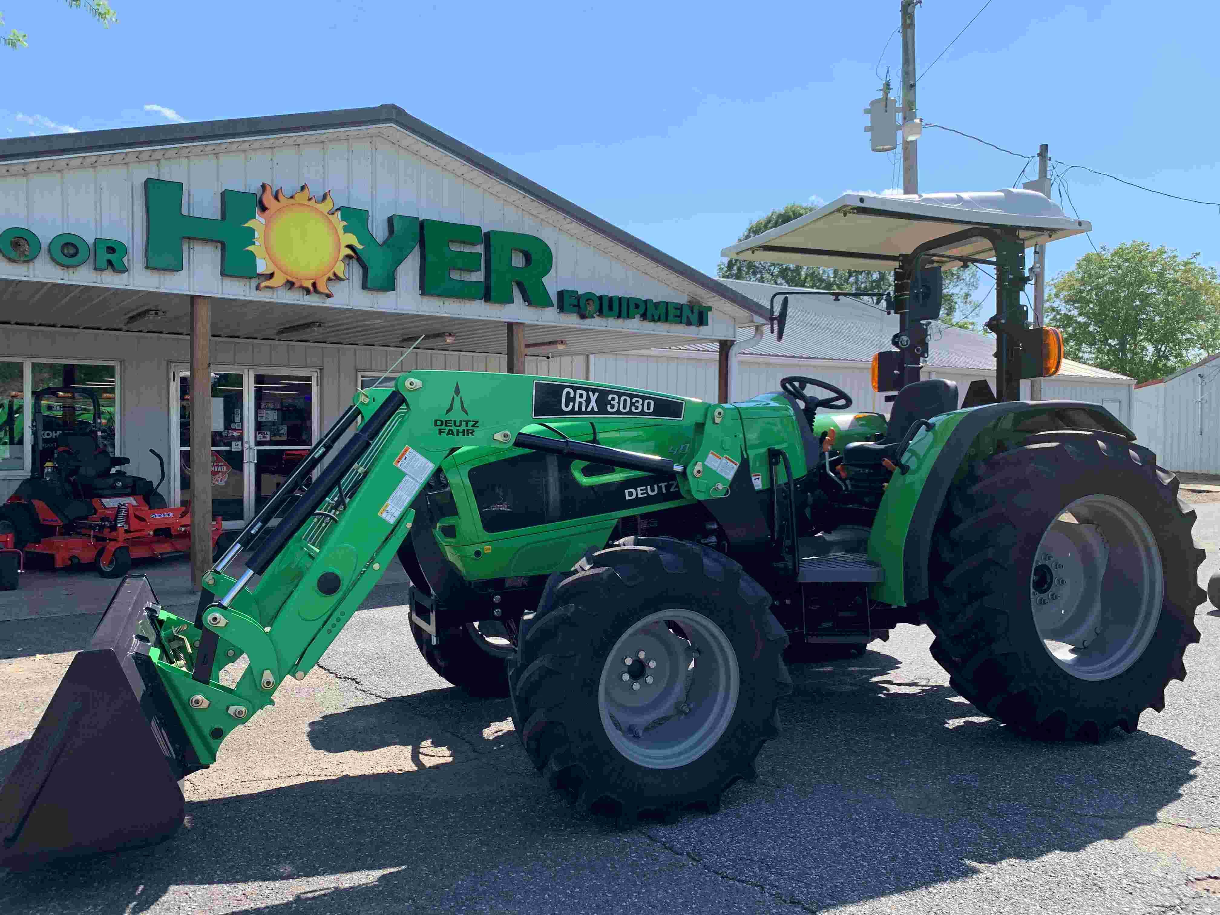 Deutz-Fahr 4080E 80hp Utility Tractor