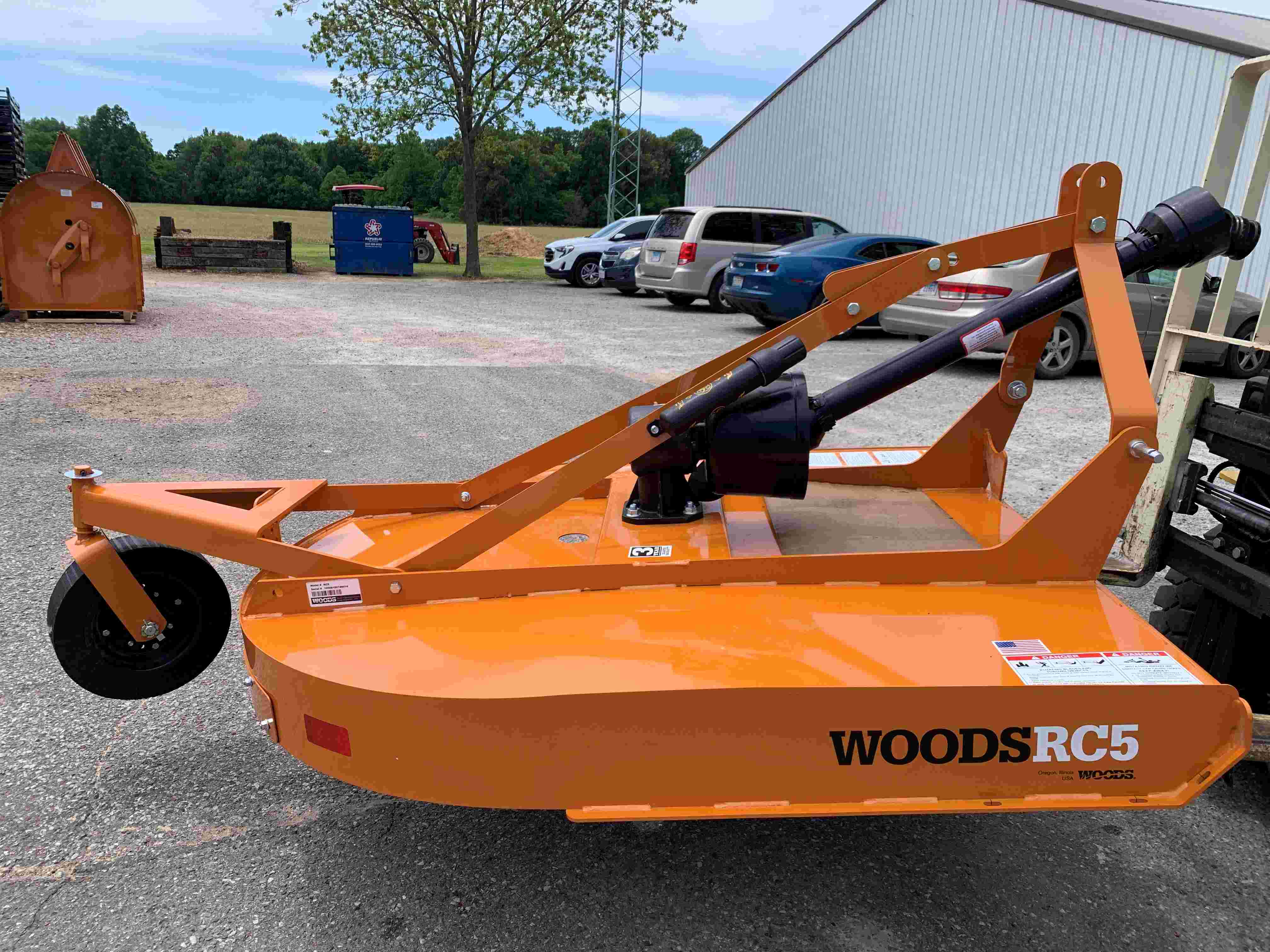 Woods RC5C 5ft Rotary Cutter