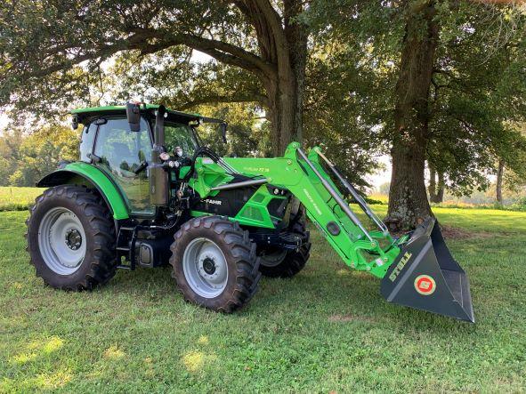 Deutz Fahr 6130TTV Utility Tractor