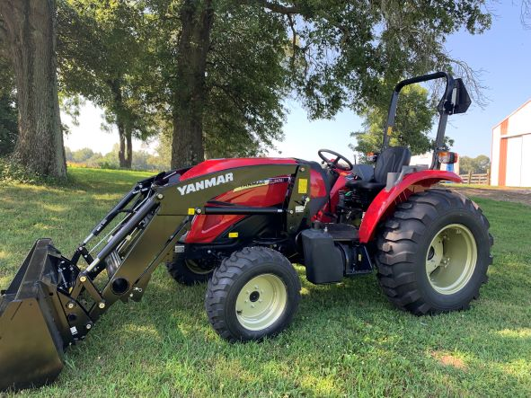 Yanmar YM347A ROPS 47HP with Loader