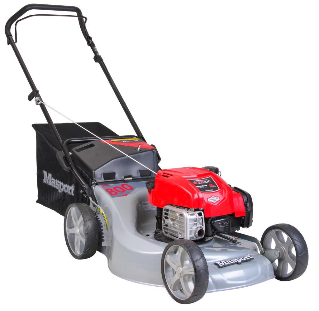 Masport 800 ST Push 3'n1 Push Mower Briggs & Stratton, 163cc, 21 in