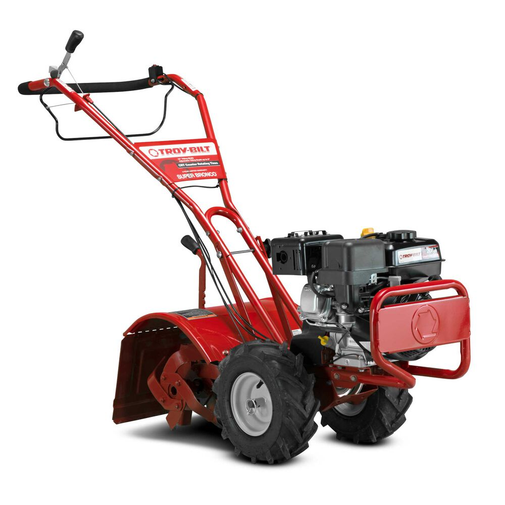 Troy-Bilt 21D-65M8766 Super Bronco CRT Garden Tiller