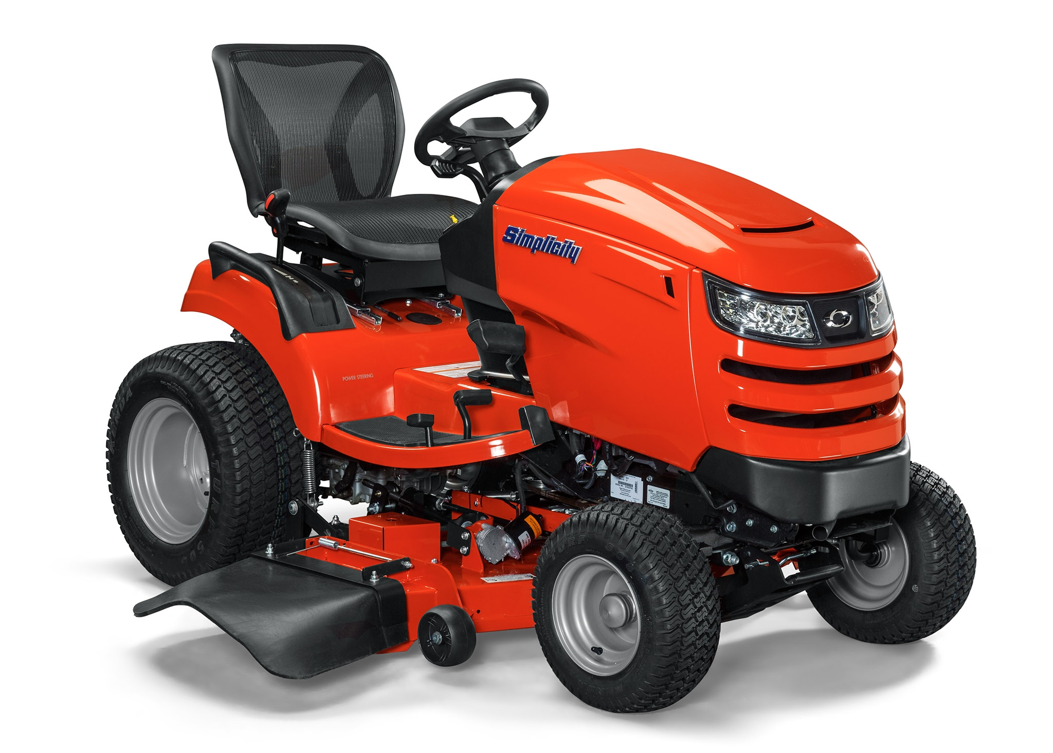 Simplicity Conquest Riding Lawn Mower, Briggs & Stratton, 25 hp, 52 in