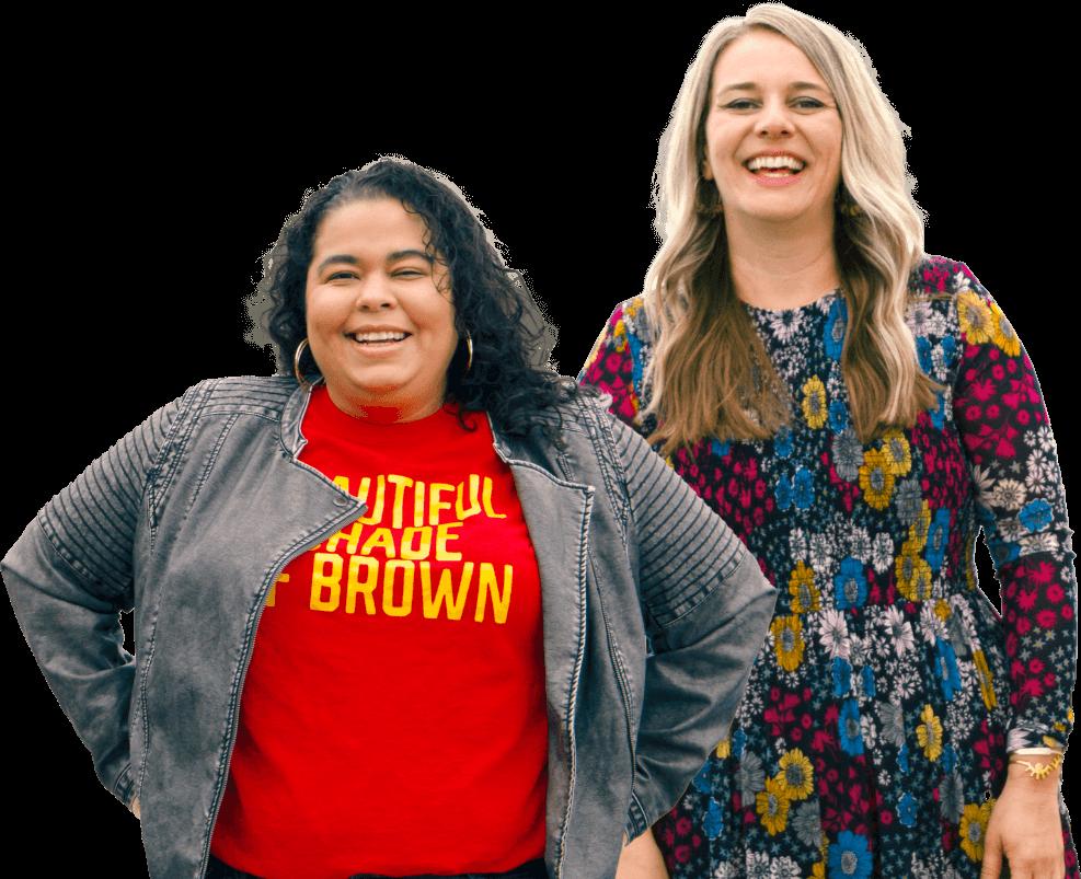 Two Women Pastors Smiling