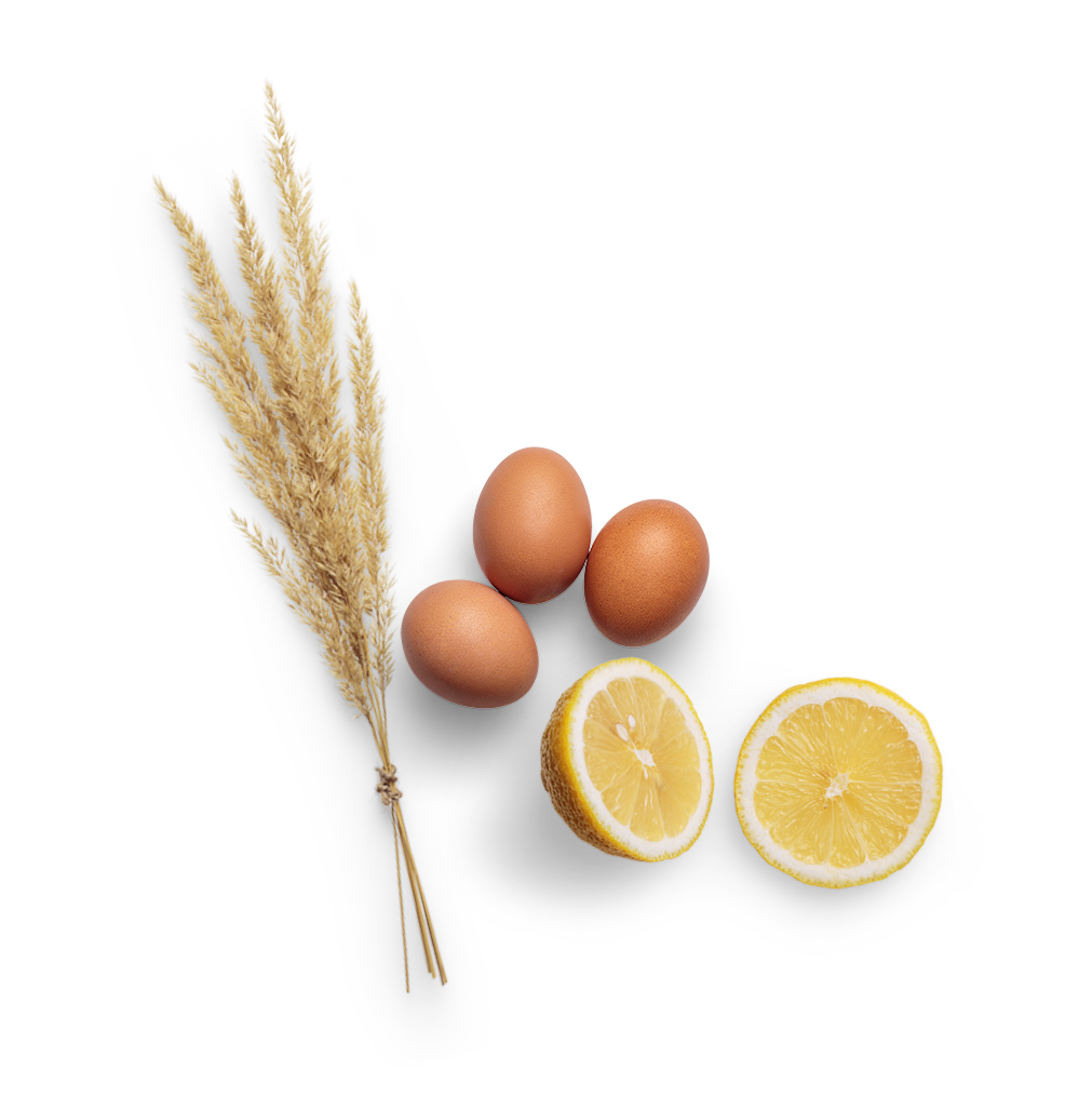 Wheat egg and Lemon