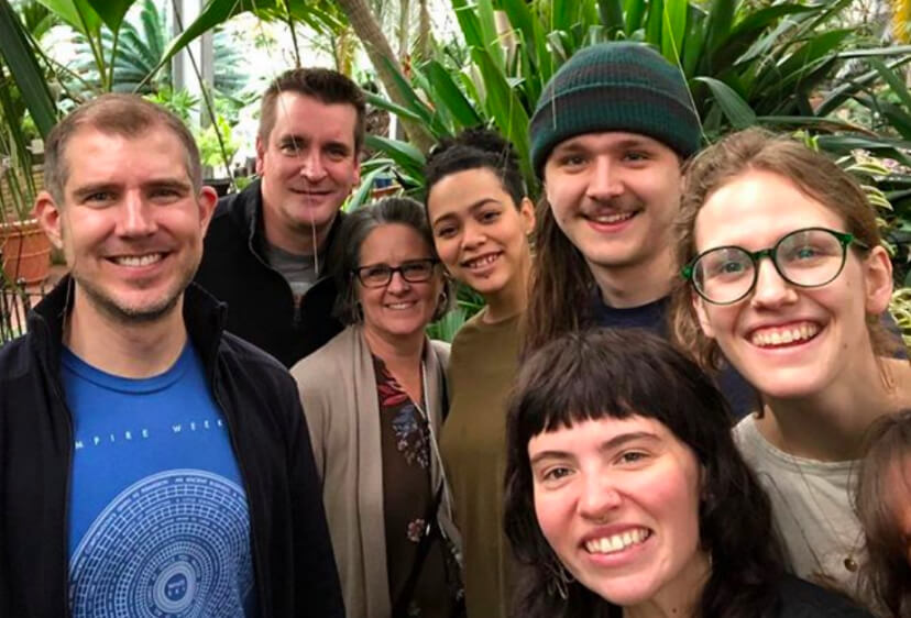 Group of people at Garfield Park Conservatory