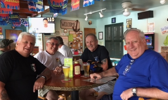"""Old-timers meet for lunch, reminisce about """"the good ole days"""""""