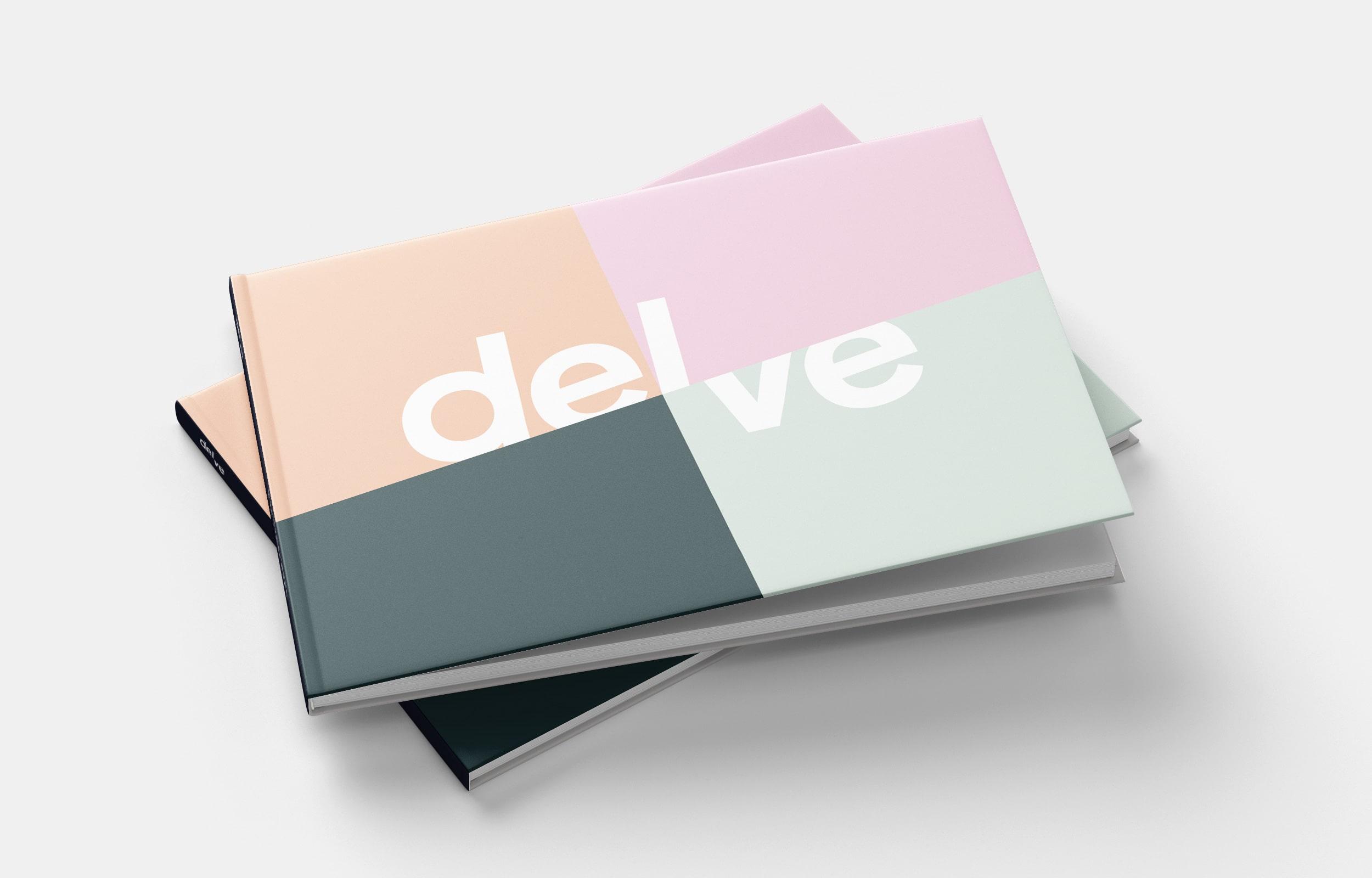 Publication design of Delve Architects