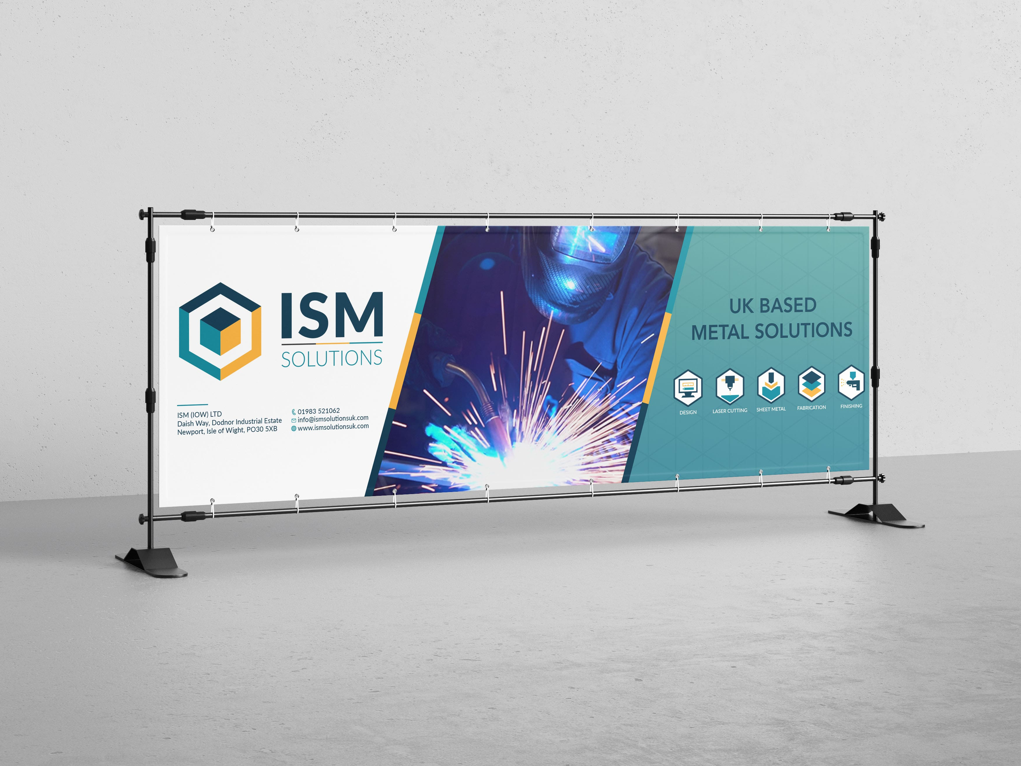 Signage of ISM solutions